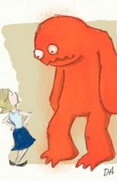 Big Orange Monster